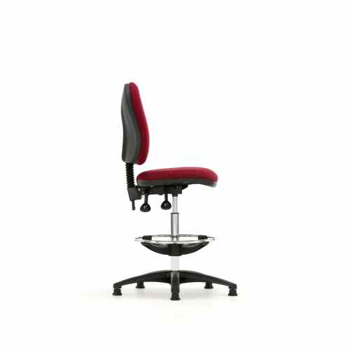 Torasen Mercury Medium Back Draughtsman S Chair Kool Blue