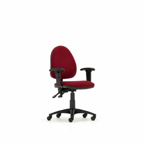 Torasen Mercury Medium Back Task Chair Kool Blue