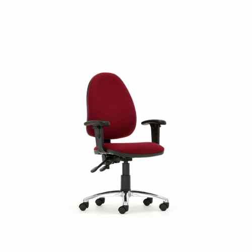 Torasen Mercury High Back Task Chair Kool Blue